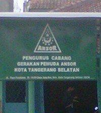 GP Ansor Kota Tangerang Selatan (Tangsel)