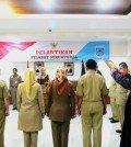 Drs. Suharno, M.Kes ditunjuk sebagai Kepala Dinas Kesehatan Kota Tangsel menggantikan Dadang M.Epid yang kini tengah bermasalah dengan kasus hukum dugaan korupsi Puskesmas